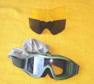 YH12 3 Lens Military Goggles