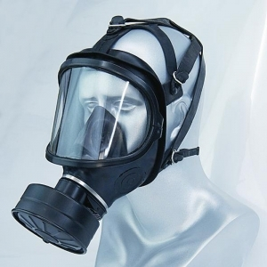 Gas Mask - panoramic vision and filter